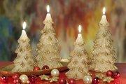 Свеча Ёлочка 11x21см Bartek Candles 5907602662245