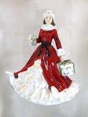 Статуэтка English Ladies Новогодние подарки, 22см фарфор ELGELS00404