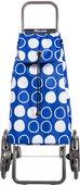 Сумка-тележка Rolser Symbol, синяя, 6 колёс, шагающая, складная IMX088Azul