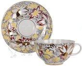 Чашка с блюдцем ИФЗ Тюльпан, Золотые ромашки 81.14667.00.1