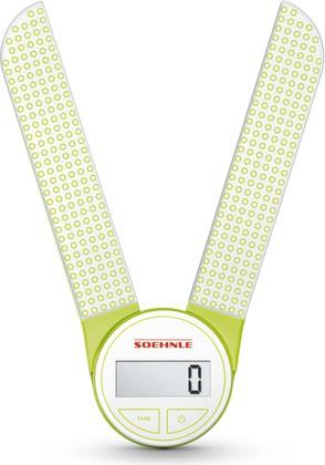 Весы кухонные электронные Soehnle Genio, 5кг/1гр, зелёный 66228