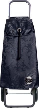 Сумка-тележка хозяйственная чёрная Rolser LOGIC RG PAC036negro