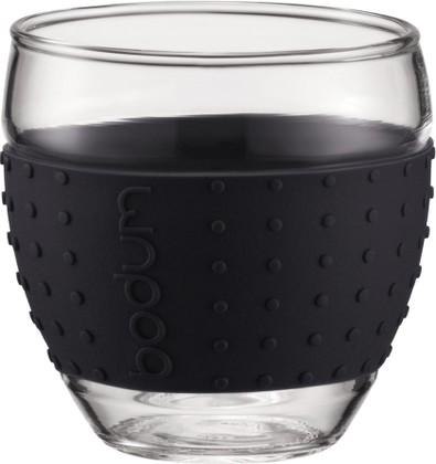 Набор бокалов 2шт 0.35л, черный Bodum Pavina 11185-01