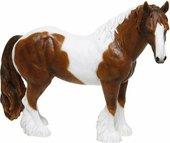 Статуэтка Lesser & Pavey Лошадь бело-коричневая, 16x15см, полистоун LP12867