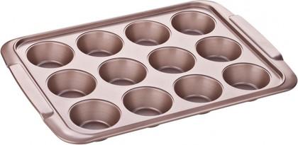Форма для 12 кексов, 39x28см Tescoma Delicia Gold 623560.00