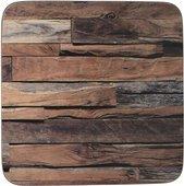 Подставки под чашку Creative Tops Wood Cabin 10.5x10.5, 6шт, пробка 5233715