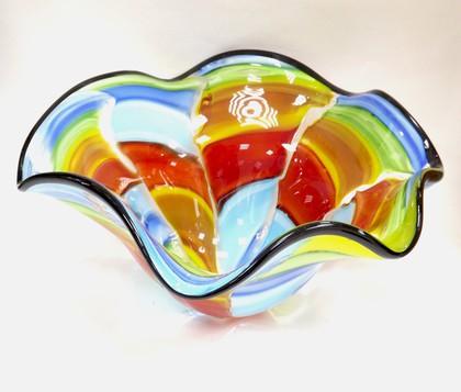 Ваза для фруктов Фантазия 32см Top Art Studio ZB2260-TA