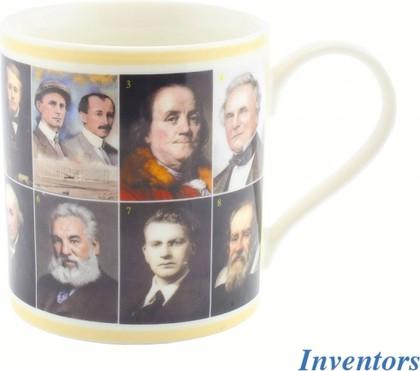 Кружка Знаменитые изобретатели, 350мл Leonardo Collection LP92224