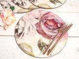 Подставки под тарелки на стол Creative Tops Античная роза, d29см, 4шт, пробка 5162897