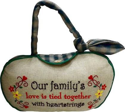 Дорстопер Наша семья, 30см Widdop Bingham WDS233
