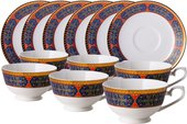 Чайный сервиз Top Art Studio Астерия Голд, 12 предметов YF1208-TA