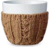 Чайный стакан Viva Scandinavia Infusion, 0.3л, фарфор, шерсть, коричневый V70714
