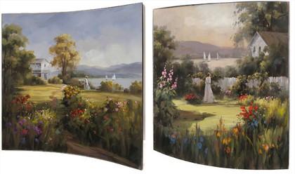 Картина Загородное поместье 58x58см, пара Top Art Studio WDP1742-TA