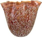 Ваза из цветного стекла Jozefina Ариэль, 30см 10-090-300-52J