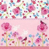 Салфетки для декупажа Paper+Design Розовый мир, 25x25см, 20шт CN0835