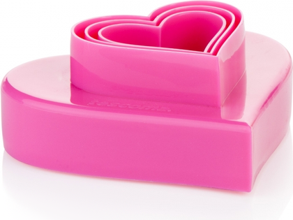 Двухсторонние формочки сердечки, 6 размеров Tescoma Delicia 630862.00
