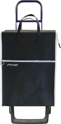 Сумка-тележка хозяйственная черная Rolser Joy-1800 MINI LIDER LT MNL001negro