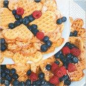 Салфетки для декупажа Вкусный завтрак, 33x33см, 3 слоя, 20шт Paper+Design 21838