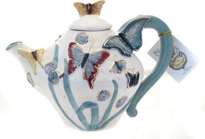 Чайник заварочный Бабочки, 23х15х16см Blue Sky LX-BL1830