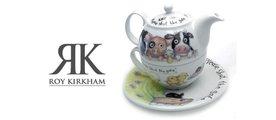 "Чайник на одного ""Пожалуйста, закройте ворота"" 0.4 л Roy Kirkham XPLE1201"