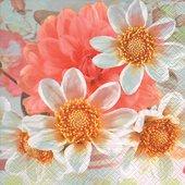 Салфетки Нежные соцветия, 33x33см, 20шт Paper+Design 200358