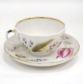 Чайная пара ИФЗ Тюльпан, Розовые тюльпаны 81.10016.00.1