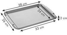 Противень для выпечки, 36x26см Tescoma DELICIA GOLD 623510.00