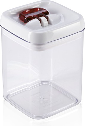 Контейнер для хранения продуктов Leifheit Fresh & Easy, квадратный, 1.6л 31211