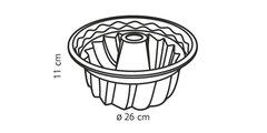 Форма для кекса силиконовая высокая, 26см Tescoma DELICIA Silicone 629224