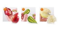 Набор для фигурной нарезки фруктов и овощей Tescoma PRESTO CARVING 422010