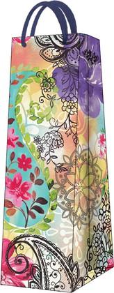 """Пакет подарочный """"Цветочный микс"""" 12x37x10см Paw AGB021404"""
