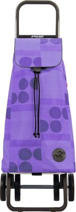Сумка-тележка хозяйственная фиолетовая Rolser DOS+2 MOU040malva