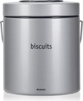 Контейнер для печенья 3.5л серый металлик Brabantia 265303