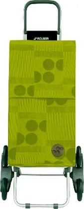 Сумка-тележка хозяйственная зелёный лайм Rolser RD6 PARIS PAR026lima