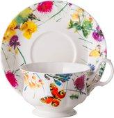 Чайная пара Top Art Studio Порхающие цветы, 400мл LD2233-TA