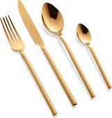 Набор столовых приборов Herdmar Desire Old Gold, 24 предмета, состаренное золото 15830241600E14
