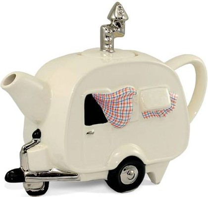 """Чайник коллекционный """"Домик путешественника"""" (Сaravan Teapot) The Teapottery 4413"""