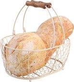 Корзина T&G Provence in cream овальная средняя 23036