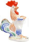 Скульптура Петух красавец, Дулёвский фарфор Д07682