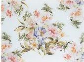 Доска разделочная Lesser & Pavey стеклянная Розовая лилия 40x30см LP93927