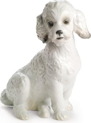 Статуэтка Милый пудель (Sweet Poodle), фарфор NAO 02001655