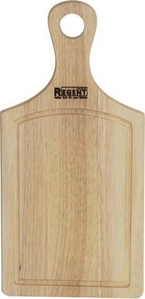 Доска разделочная прямоугольная с деревянной ручкой 42х20х1.5см Bosco Regent Inox 93-BO-2-02