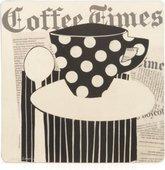 Подставки на пробке Время пить кофе 29x29см, 4шт Creative Tops 5113201
