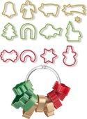 Формочки для рождественского печенья, 13шт Tescoma Delicia 630902.00