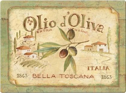 Доска стеклянная Олио д'Олива, 30х40см Creative Tops CT3636