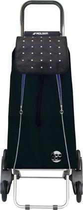 Сумка-тележка хозяйственная черно-синяя Rolser RD6 IMX015negro/azul