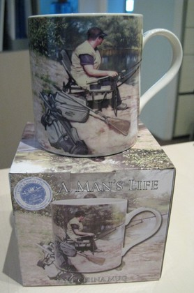 "Кружка Мужское xобби ""Рыбалка"", 400мл The Leonardo Collection LP33045"