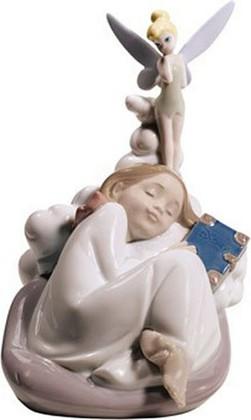 Статуэтка фарфоровая Сказочный сон (Dreaming Of Tinker Bell) 17см NAO 02001679