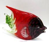Фигурка из цветного стекла Коралловая рыбка 23x10x15см Top Art Studio ZB1550-TA