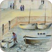 Подставки под чашку Creative Tops Cornish Harbour 10.5x10.5, 6шт, пробка 5169620